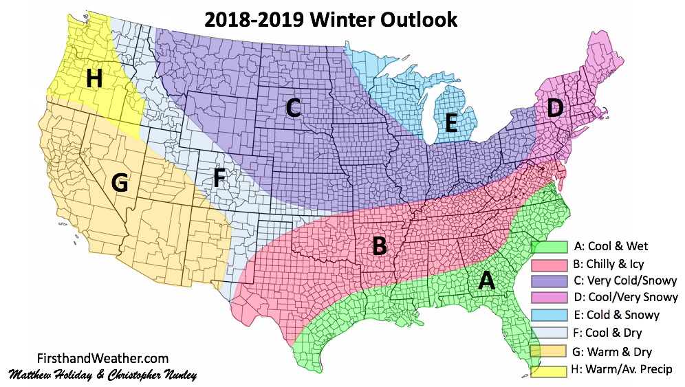 2018-19 Winter Forecast Summary - NORTH GEORGIA WX BLOG